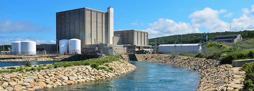 The Pilgrim Nuclear Power Station's track record is less than stellar, at least according to the Nuclear Regulatory Commission, which, in 2012, extended the plant's license to 2032. (Entergy Corp.)