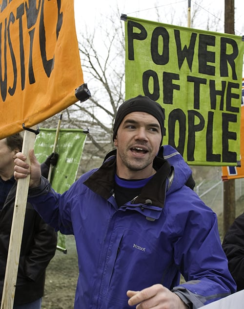 Tim DeChristopher helped usher in a new approach to environmental activism.