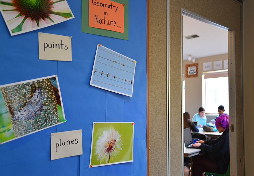 Getting the topic of climate change to be formally integrated into southern New England's official public school curricula is a work in progress. (Joanna Detz/ecoRI News photos)