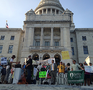Political influence has eroded enforcement of Rhode Island's environmental laws, and both environmentalists and business owners are concerned. (ecoRI News)