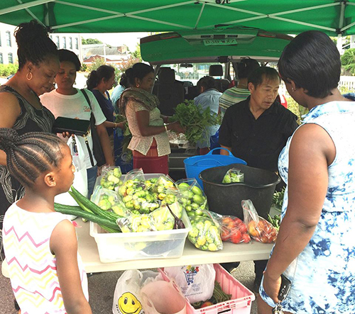 The Sankofa World Market is a local farmers market with international flavor. (Sankofa Initiative)