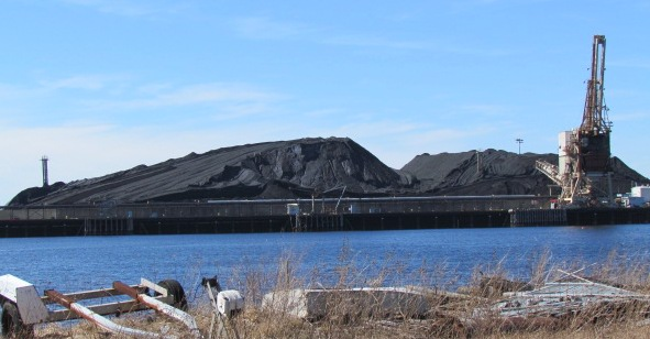 Brayton Point burns more than 1.2 million tons of coal annually.