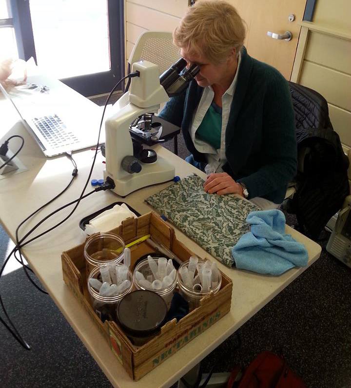 Monique Bosch checks on the quality of each member's vermicompost at the nonprofit's monthly meetings. (Rhode Island Worm Farmers Cooperative)