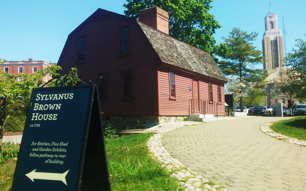 The Sylvanus Brown House at Old Slater Mill in Pawtucket, R.I., is cared for by the Old Slater Mill Association, one of many partners the National Park Service will collaborate with on the Blackstone River Valley National Historic Park. (Kevin Proft/ecoRI News)