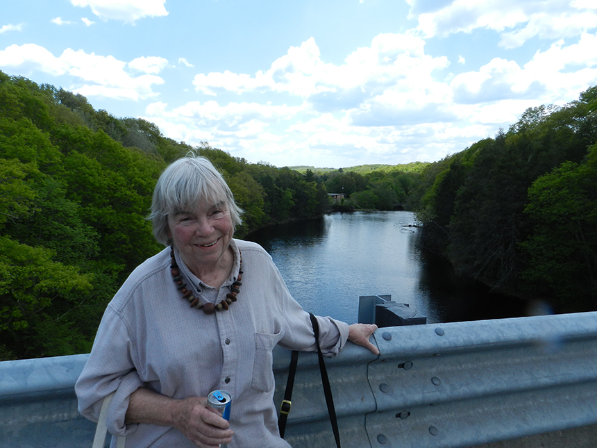 Margaret Miner has been watching over Connecticut's waterways since 1999. (Judee Burr/ecoRI News)