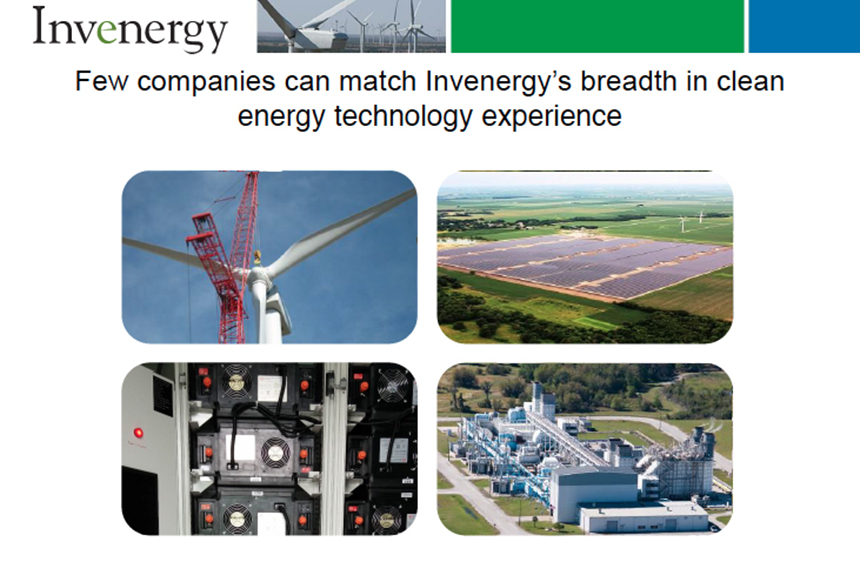 Invenergy has little problem touting its cleanliness, as this graphic (page 6) in a January presentation to the Rhode Island Energy Facility Siting Board demonstrates. It's easy to make such claims when the dangers of hydraulic fracturing are ignored.