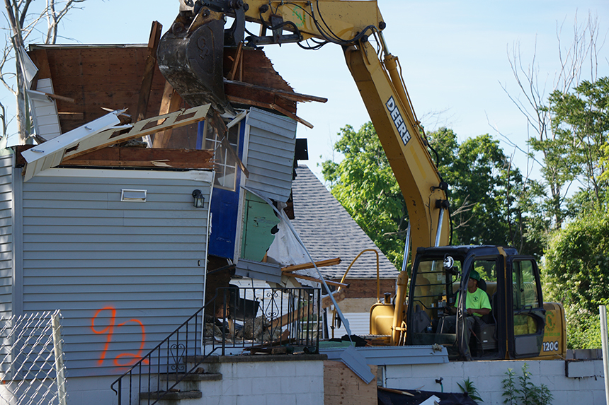 Thirteen West Haven, Conn., homeowners have signed over their houses for demolition. (Eileen Krugel/city of West Haven)