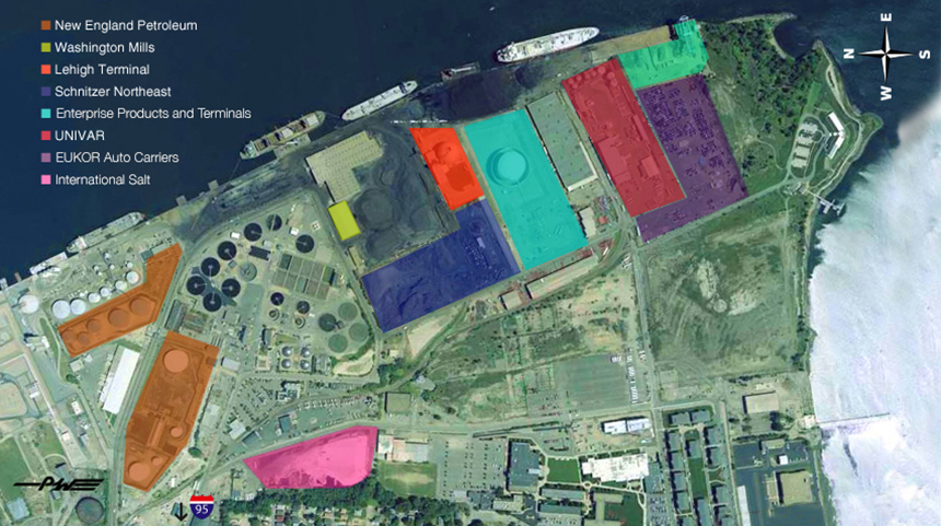 ProvPort says it has run out of room on Field's Point and needs more space to expand operations. (ProvPort)