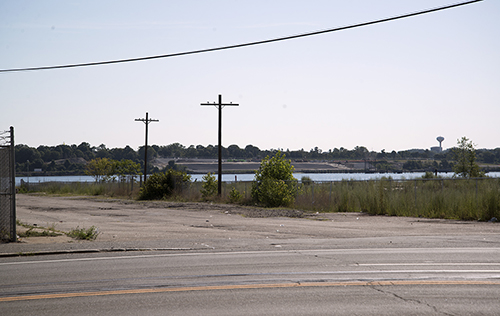 There's vacant space along the Providence waterfront, but supporters of port expansion question the wisdom of developing mixed-use space along Allens Avenue.