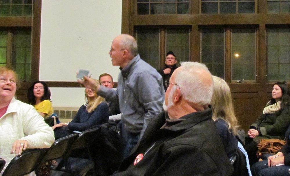 Residents from Pawtucket, R.I., and Attleboro, Rehoboth and Seekonk, Mass., are organizing against a proposed compressor station. (Tim Faulkner/ecoRI News)
