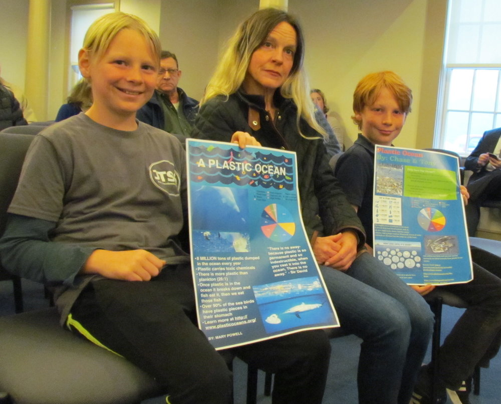 Several supporters of the bag ban were moved by the documentary 'A Plastic Ocean.'