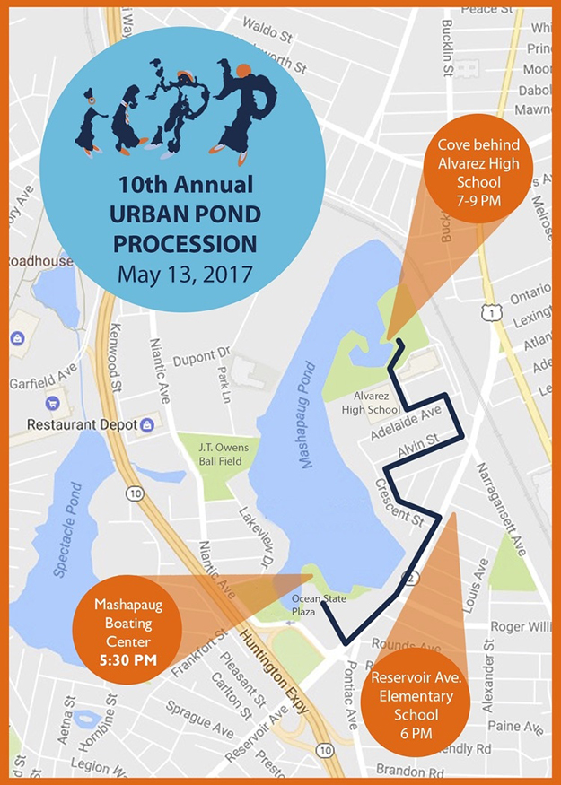 The 10th and final Urban Pond Procession is May 13. (UPP Arts)