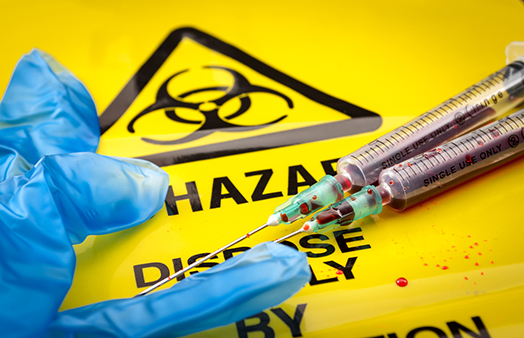 Millions of pounds of medical waste is buried in landfills and burned in incinerators every day. (istock)