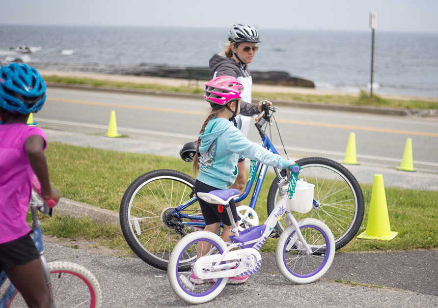 The annual Bike Newport event is designed to expose riders of various levels to safe road bicycling in the scenic corner of Newport, R.I., and to raise money for community bike programs run by Bike Newport and the Newport County YMCA. (Bike Newport)
