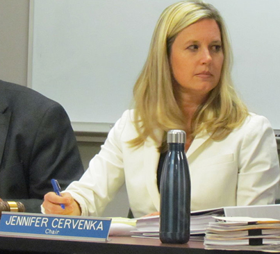 Jennifer Cervenka is the new chair of the Coastal Resources Management Council. (Tim Faulkner/ecoRI News photos)