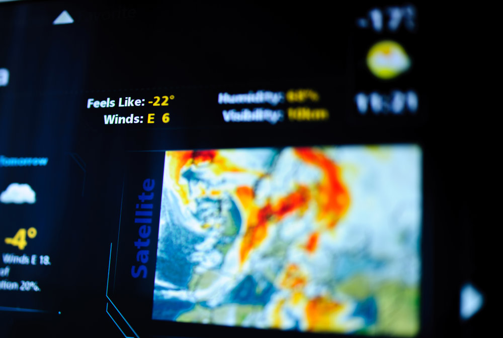 We like to track storms, but climate change flies under the Triple Doppler radar. (istock)