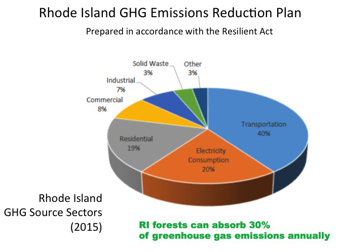 Protecting Rhode Island's forests is important both economically and environmentally. (Grow Smart Rhode Island)