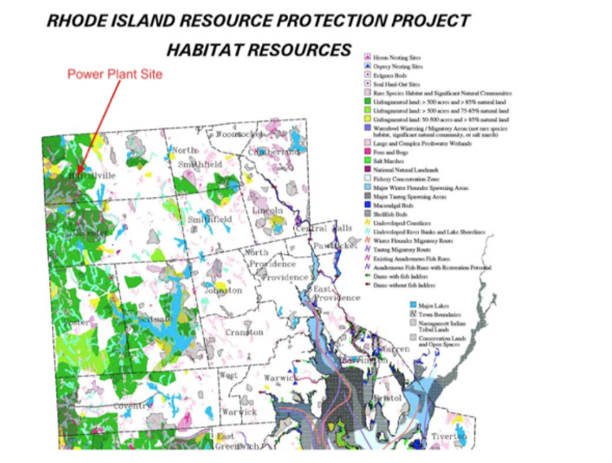The Clear River Energy Center site is surrounded by roughly 16,000 acres of protected wilderness in three states.