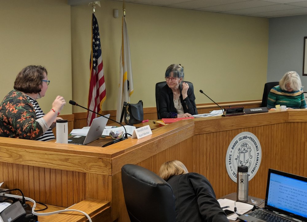 The Energy Facilities Siting Board has two major issues to address at its Sept. 26 hearing. (Tim Faulkner/ecoRI News)