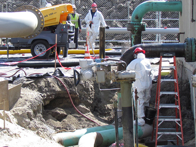 The recent gasoline spill was the third such major accident on Providence's South Side since March 2017, including a ruptured natural-gas pipeline. (ecoRI News)