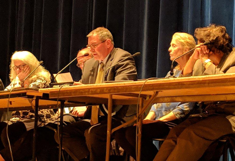The Hopkinton Town Council voted to deny the 58-megawatt Brushy Brook solar facility. (Tim Faulkner/ecoRI News)