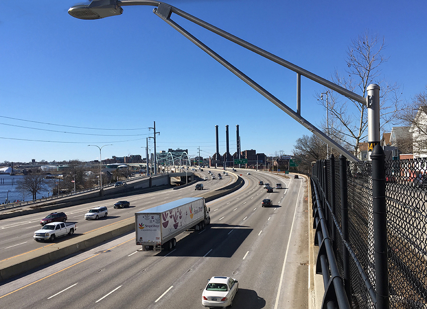 About 4.5 million tons of carbon dioxide are produced annually by Rhode Island's transportation sector. (Joanna Detz/ecoRI News)