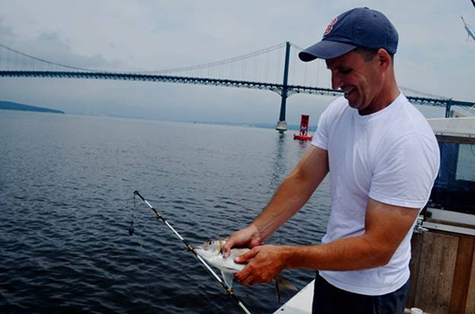 David Taylor is also an avid fisherman and seafood consumer. (Courtesy photo)