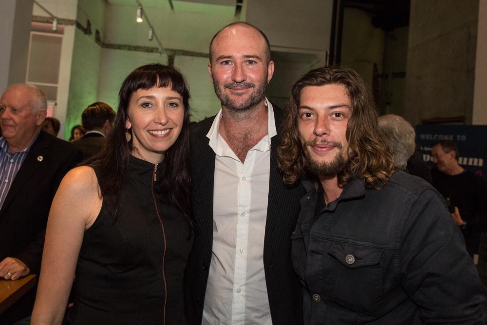 Angie Fielder, Brendan Fletcher & Benedict Samuel