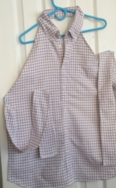 After:  Shirt Tale Apron