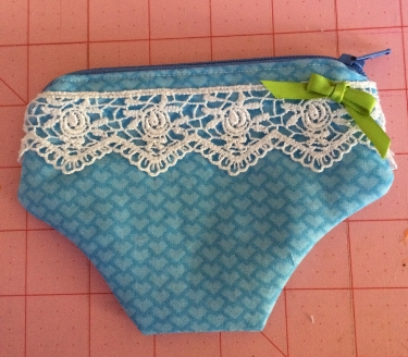 Pretty little panty pouch