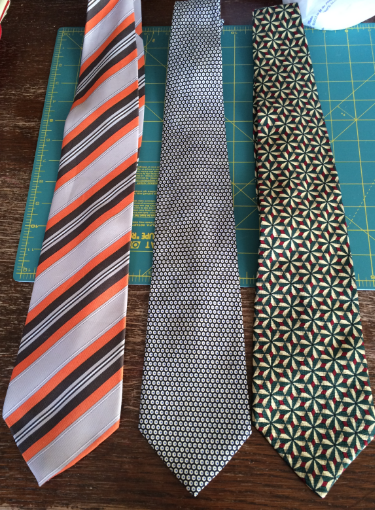 Old ties or should we say potential snakes