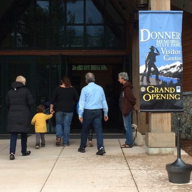 The Emigrant Trail Museum in the Donner Memorial State Park had just been remodeled and updated.