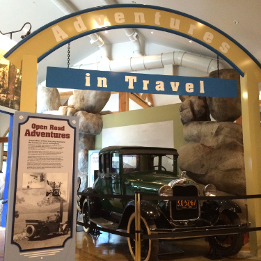 There was a wonderful exhibit on Highway 50, the Lincoln Highway,  know as America's Main Street.
