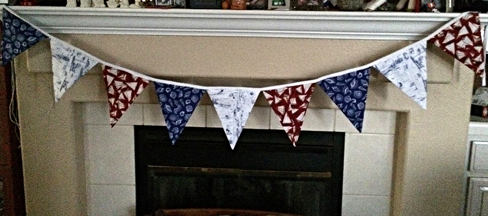 Bon Voyage bunting is perfect for my retirement party
