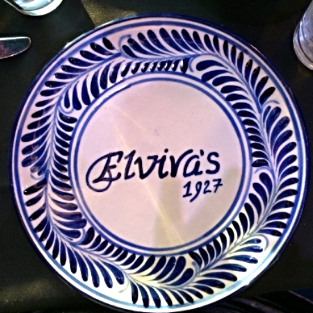 This is the charger at Elvira's Restaurant in Carmen, AZ.  The food, service and ambiance was fabulous.