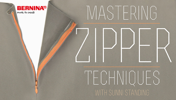 Sunni Standing runs A Fashionable Stitch, an online Sewing blog.  Learn to Confidently insert slot seam, invisible and lapped zippers with ease in this free class.