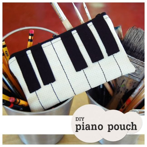 Check out Bored and Crafty's Piano shoulder bag tutorial also.