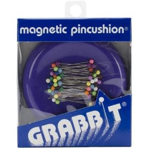 Blue Feather Grabbit Magnetic Pincushion
