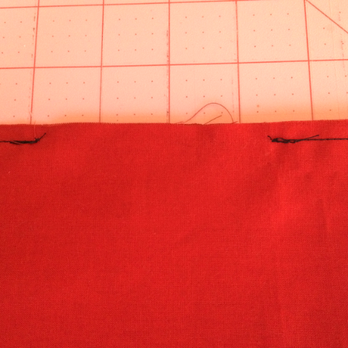 Be sure to mark the gap with double pins.  I can't tell you how many times I have forgotten to leave the gap.  Also remember to back stitch at the beginning and end of the gap.
