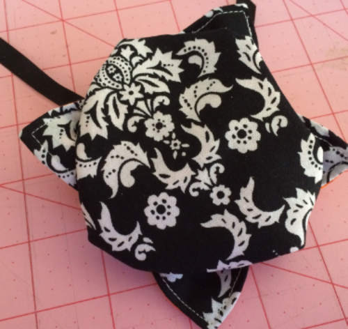 backside of lotus pouch