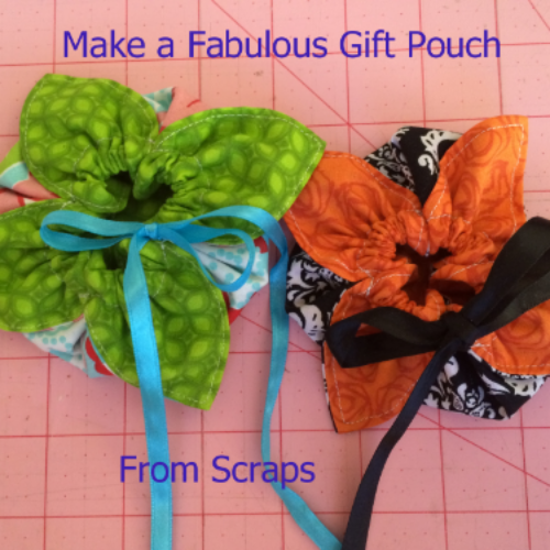 the pouches are the perfect size for the bracelets and make a good presentation gift pouch