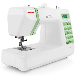 The Janome DC2012 brings the features you need to complete any project: home decor, garment sewing, scrapbooking, or quilting.