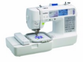 The computerized brother SE-400 combination embroidery and sewing machine is designed to help you give your projects a customized, high-end look -- all while being priced to fit your budget!