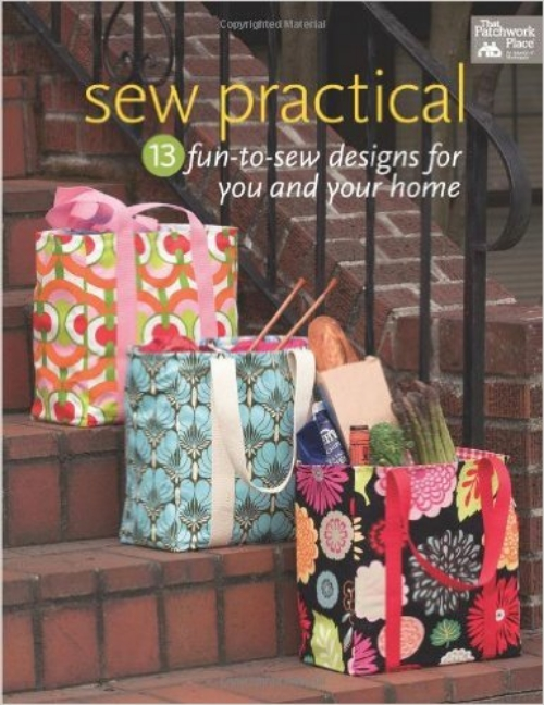 Sew Practical - 13 Fun to Se Designed for You and Your Home is a great little book.  You can choose from bags, placemats, aprons, a pin cushion, and create fabulous gifts.