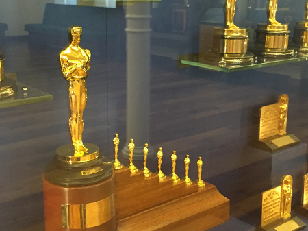 Walt's personal Academy Award for Snow White and the Seven Dwarfs
