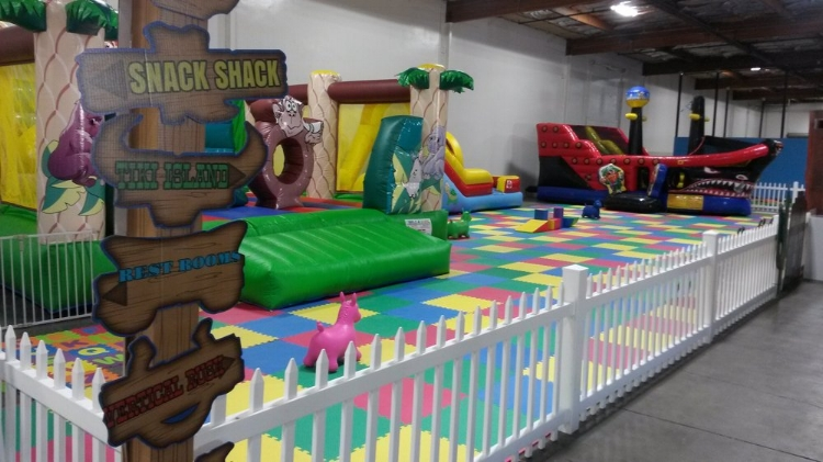 Bouncee Pouncee Fun Land is the Perfect Place for Kids