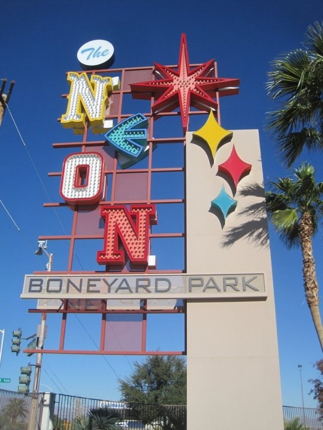 The Neon Museum Boneyard Park pinneable image