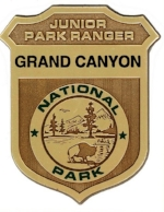 Grand Canyon Junior Ranger patch