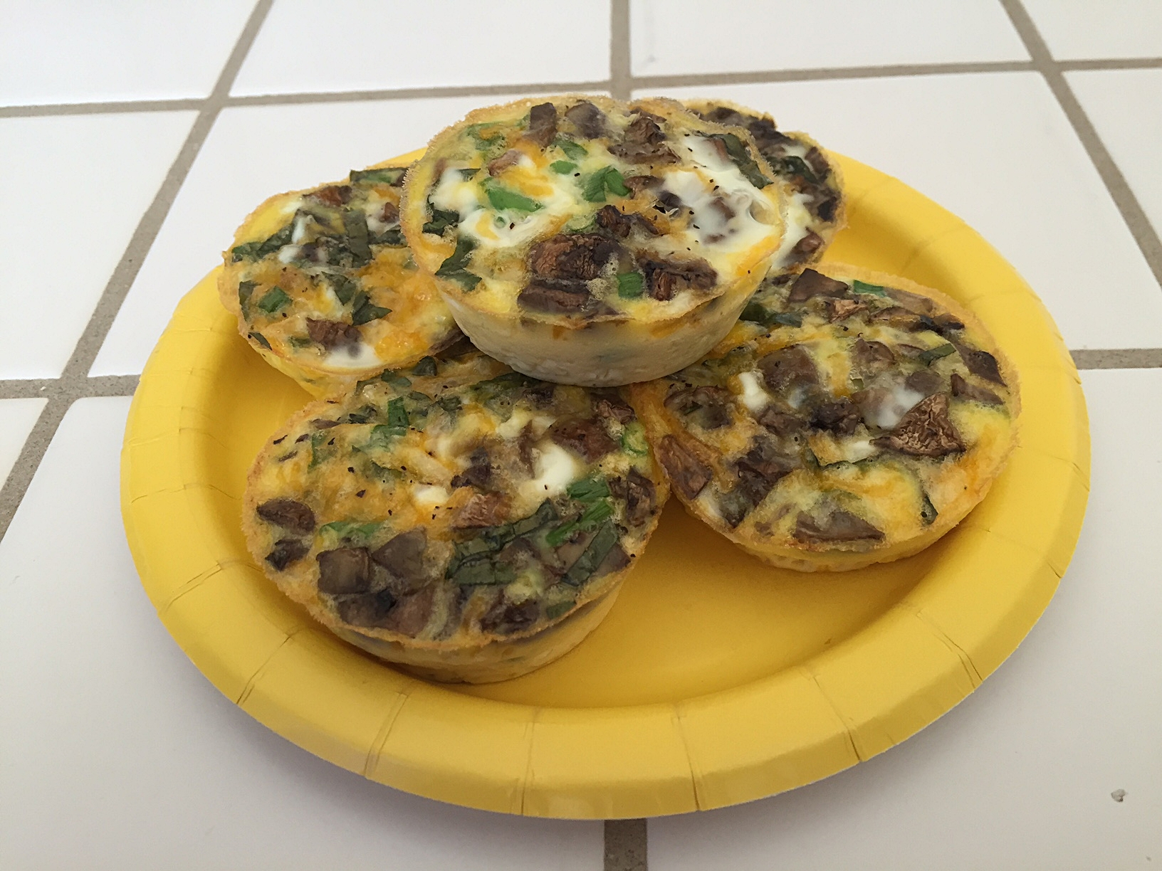 Scrambled Egg Muffins for a Grab-n-Go Breakfast