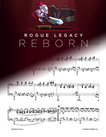 Mincemeat (from ROGUE LEGACY REBORN) for solo piano